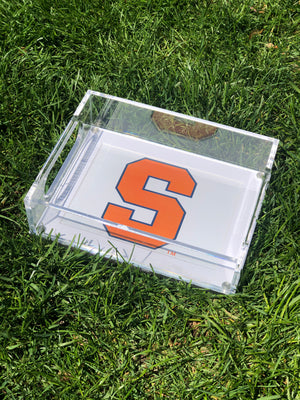 College Lucite Tray