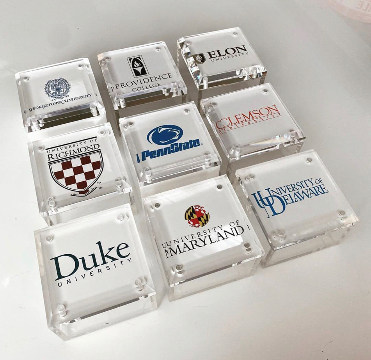 Small College Acrylic Box