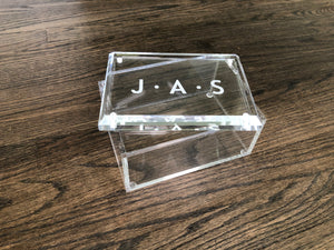 Large Acrylic Box Engraved