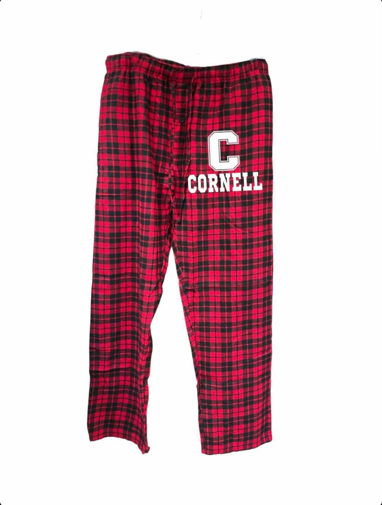 College Flannel Pajama Bottoms