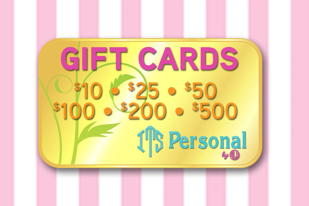 Its Personal Stuff Gift Cards