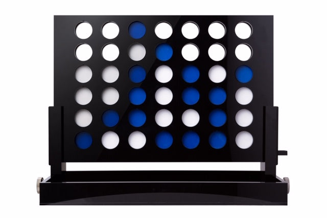 Acrylic Connect 4 Coffee Table game