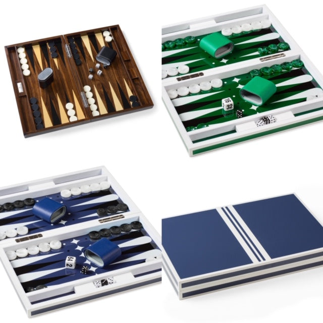 Acrylic Coffee Table Backgammon