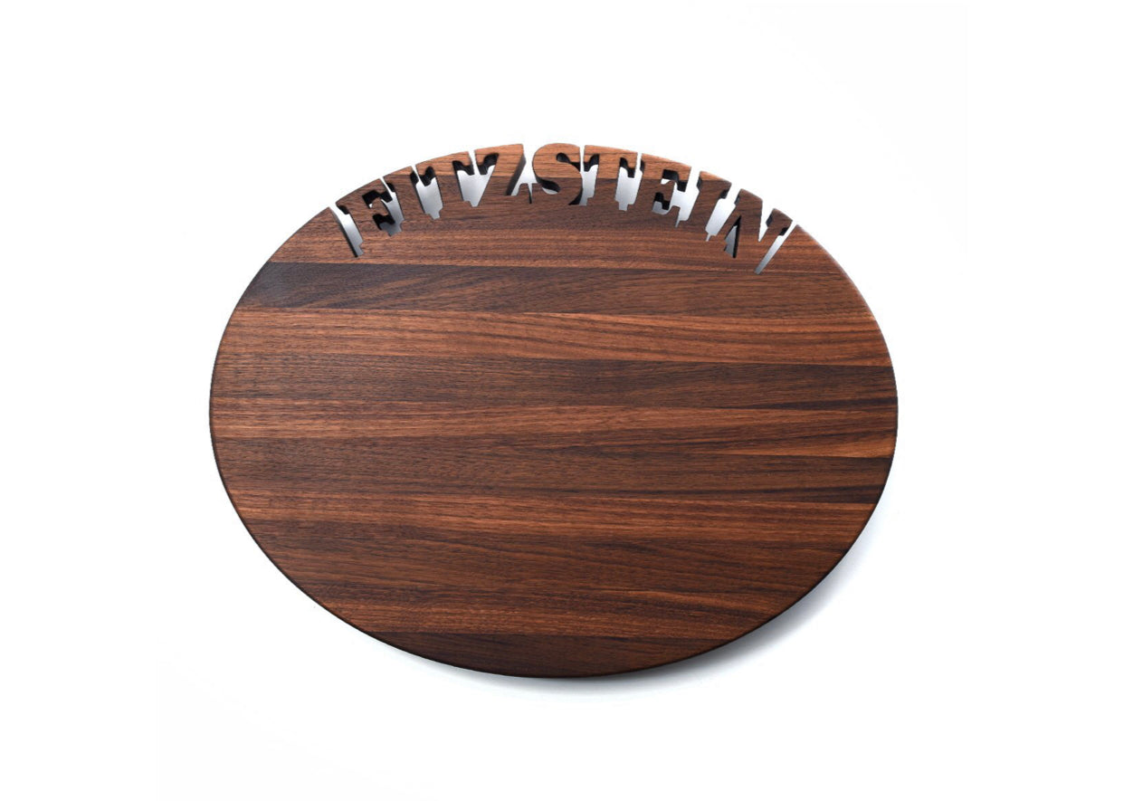Oval Personalized Cutting Board
