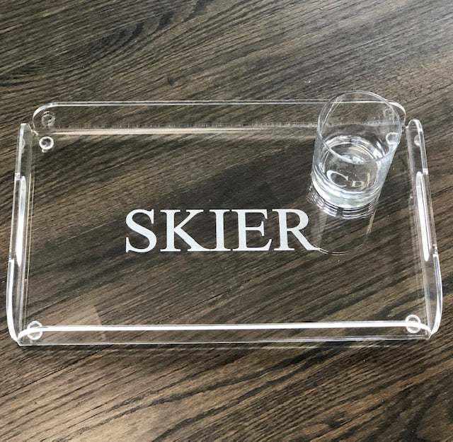 Etched Acrylic Tray