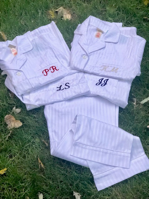 Women's  Striped Pajamas