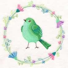 Load image into Gallery viewer, Spring Birds - Emerald