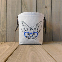 Load image into Gallery viewer, Fennec Fox - Blue Specs