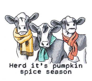 Herd It's Pumpkin Spice Season