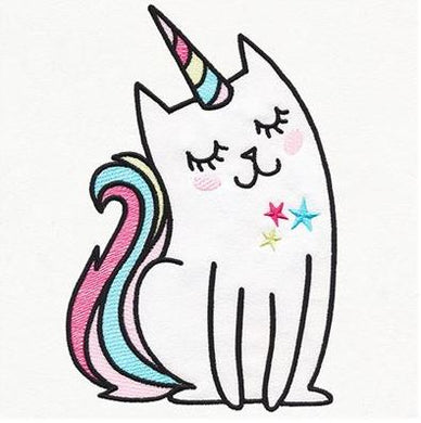 Charming Unicorn Cat