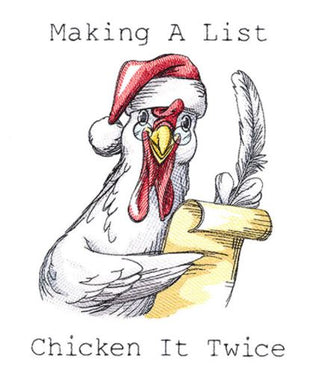 Making A List Chicken It Twice