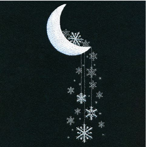 Moonlight Snowflakes
