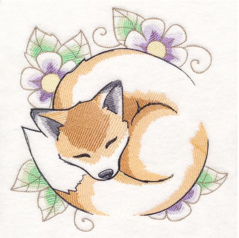Soft Sleepy Fox