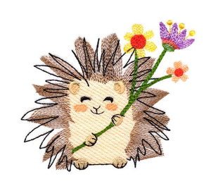 Sweet Garden Hedgehog