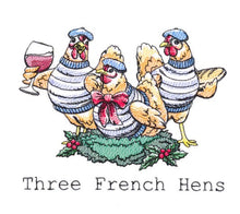 Load image into Gallery viewer, Three French Hens