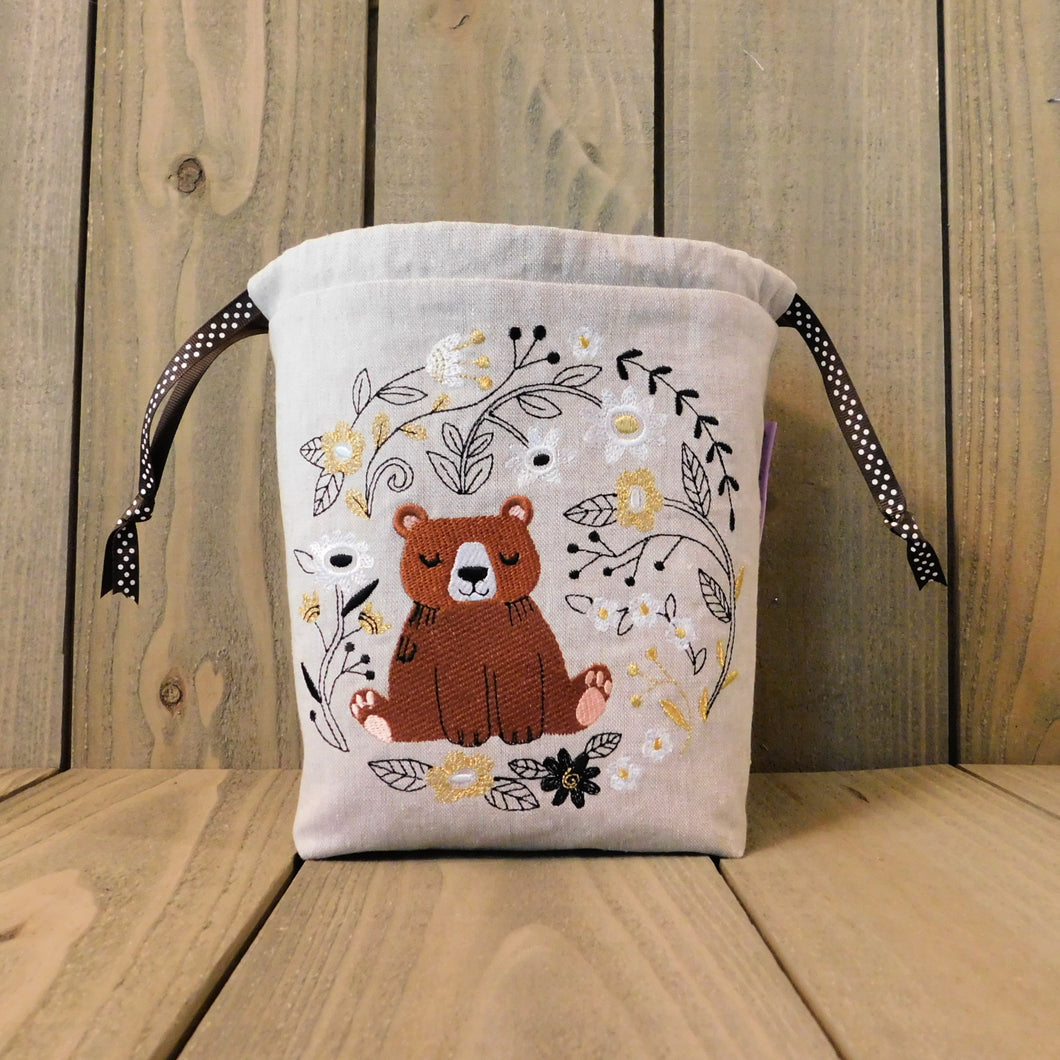 Whimsical Woodland Bear