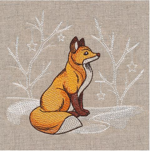 Winter Storybook - Fox