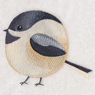 Roly-Poly Chickadee