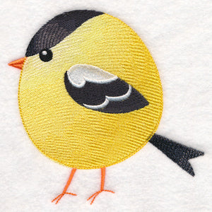 Roly-Poly Goldfinch