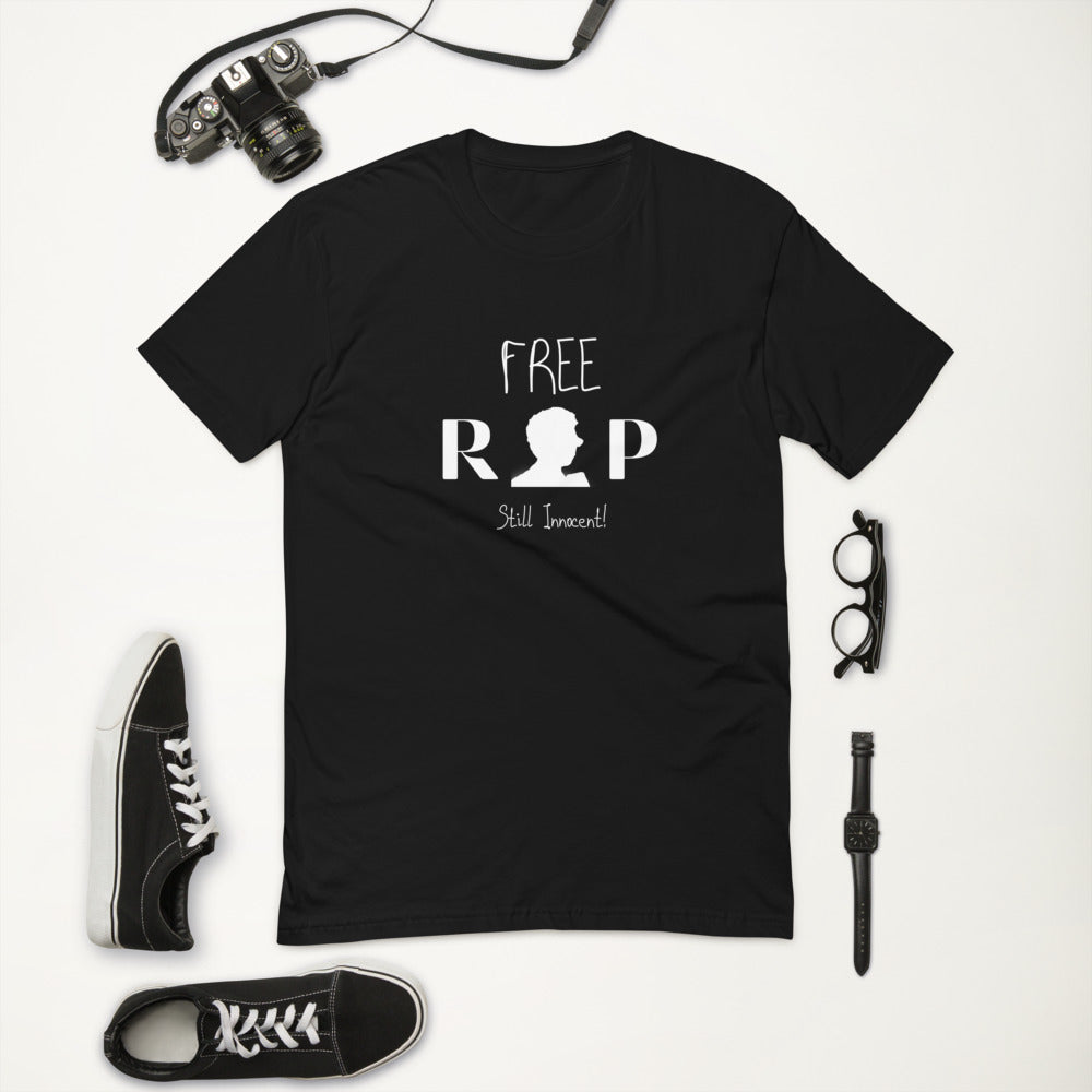Still Innocent Free Rap Black Tee
