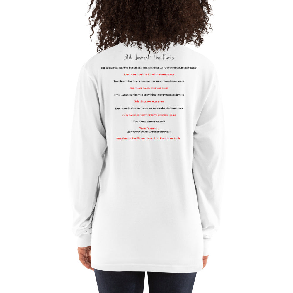 Still Innocent Free Rap Premium Long Sleeve Tee