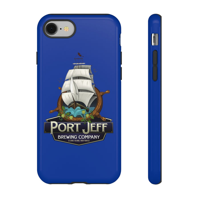 Blue Tough iPhone Case