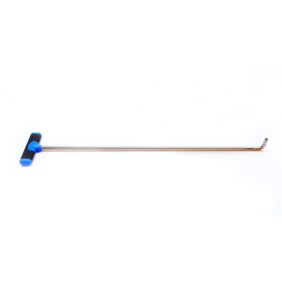 "12I9030-S - 30"" x 1/2"" Stainless Steel Rod with 90 Degree Angle & Interchangeable Tip - TDN Tools"