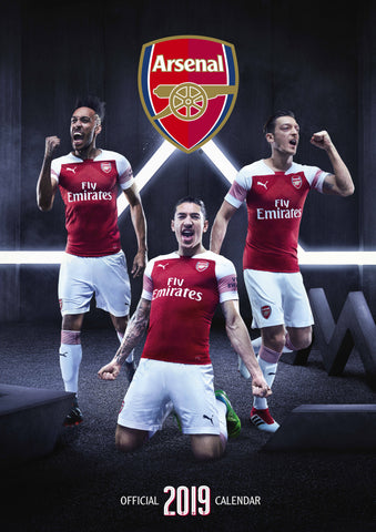 Arsenal FC Official 2019 Calendar