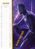 Avengers Change It Up 2019 Calendar