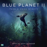 BBC Blue Planet II 2019 Calendar