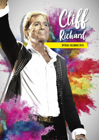 Cliff Richard Official 2019 Calendar