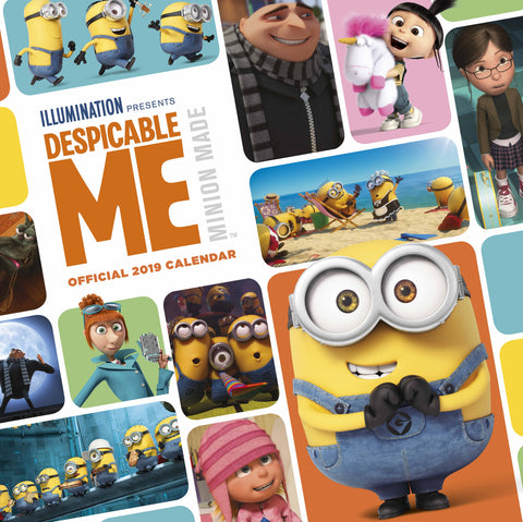 Despicable Me Official 2019 Calendar