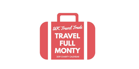 Travel Full Monty 2019 Charity Desk Calendar