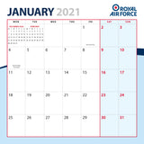 Royal Air Force Calendar 2021