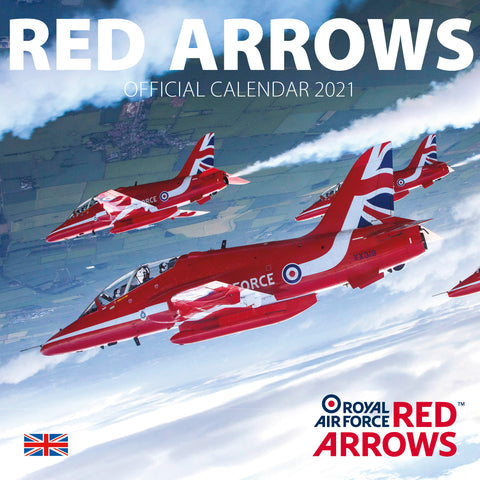 Royal Air Force Red Arrows Calendar 2021