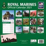 Royal Marines Official Calendar 2021 Back Cover