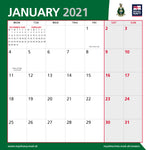 Royal Marines Official Calendar 2021 - January Preview