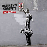 Banksy's Graffiti Official 2019 Square Calendar