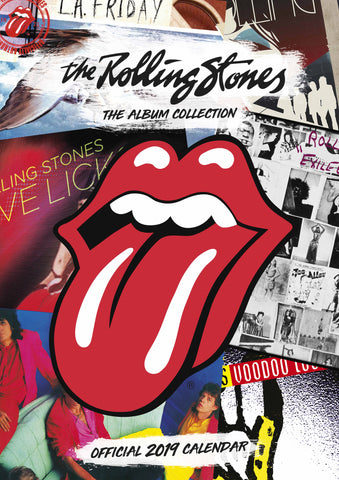 Rolling Stones Official 2019 Calendar