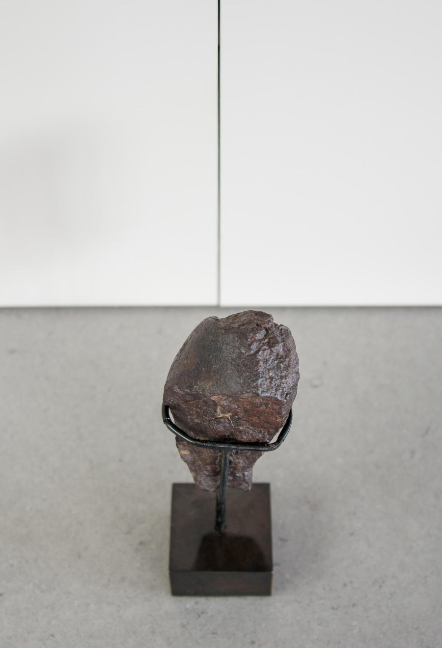 NWA Meteorite on Bronze stand