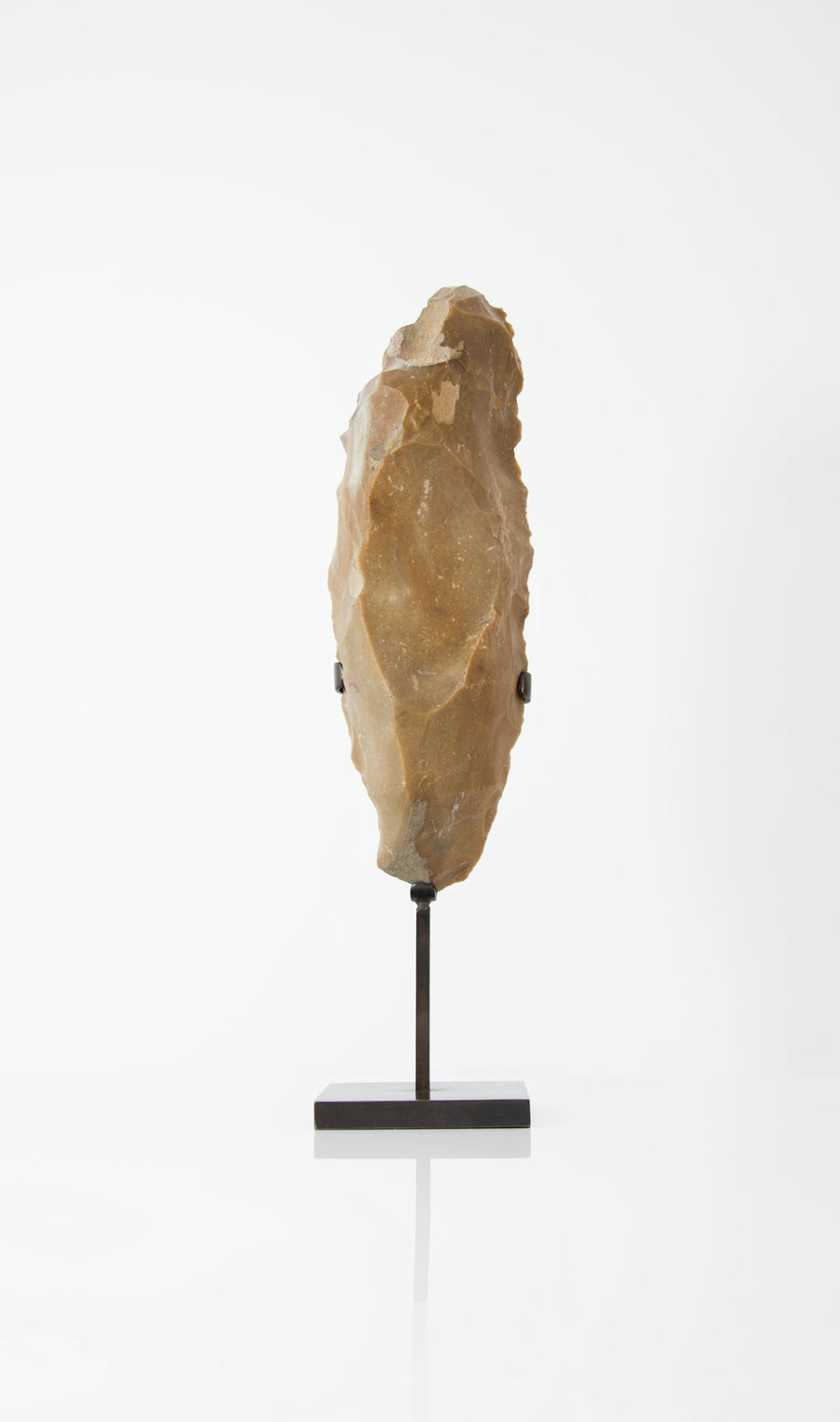 Neolithic Core Flint on a bronze stand