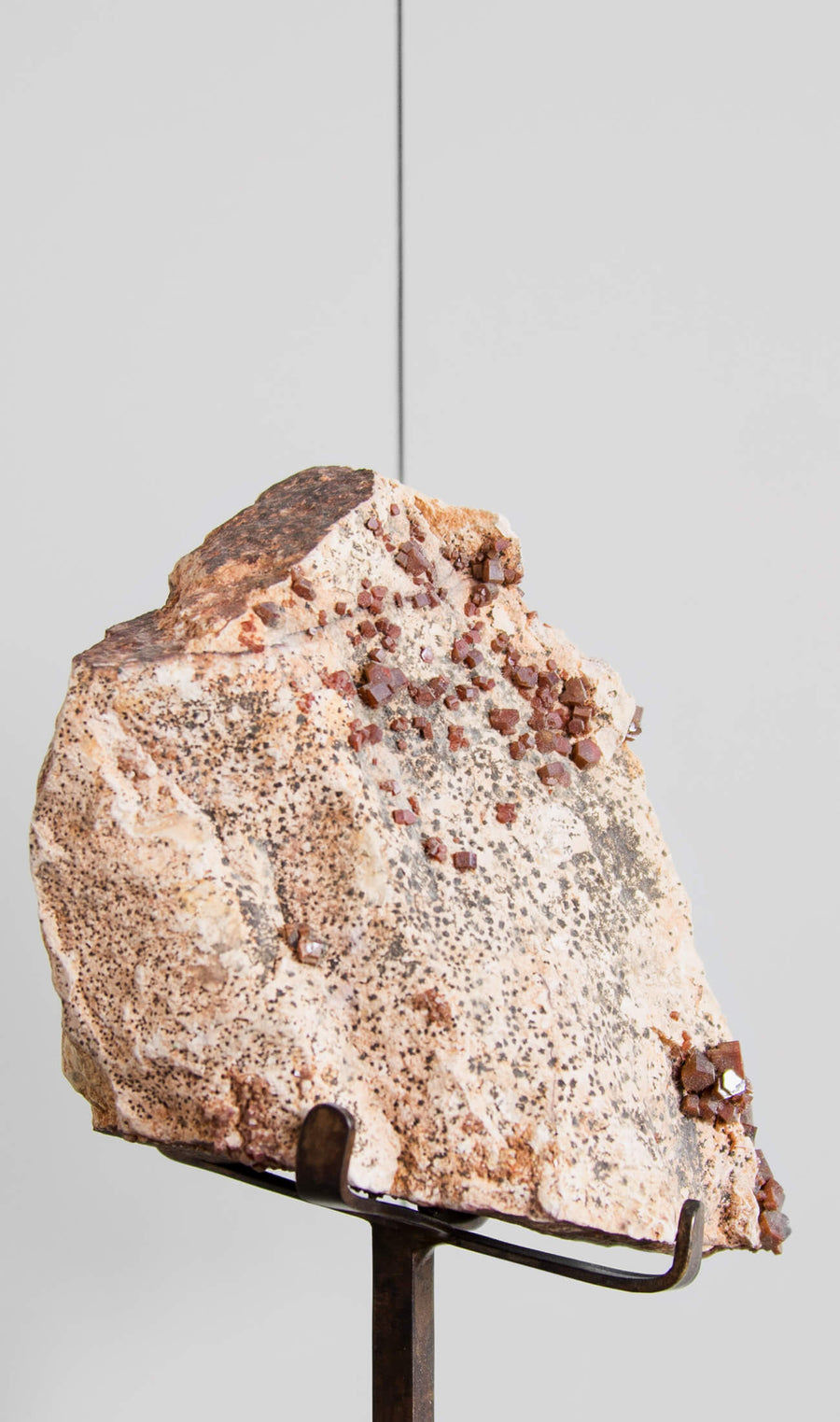 Vanadanite on Bronze Stand 206mm
