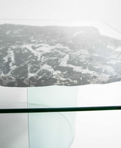 Natural Devonian Fossil Table 1200mm