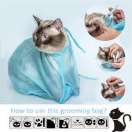 PET GROOMING CAT BAG