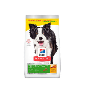 Hill's Science Diet Youthful Vitality Senior Raza Mediana/Grande, 5.7 kg