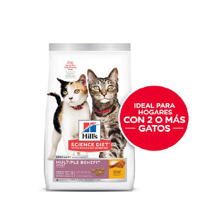 Hill's Science Diet Múltiple Benefit Alimento Seco para Gato Adulto