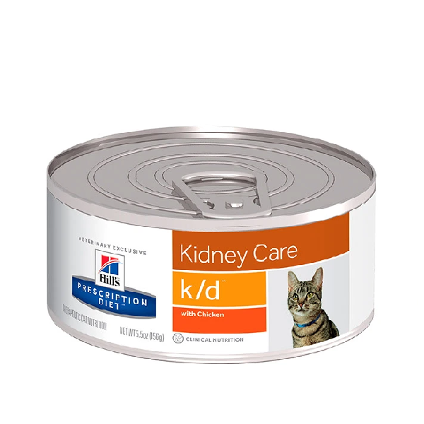 Hill's Prescription Diet k/d Cuidado Renal Gato Lata