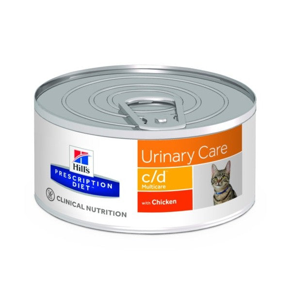 Hill's Prescription Diet c/d Cuidado Urinario para Gato lata