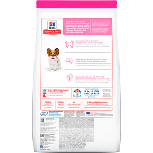 Hill's Science Diet Small Paws Light, Perro Adulto Raza Chica, 7Kg