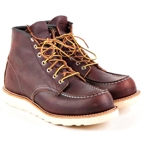 RED WING CLASSIC MOC TOE 8138 BRIAR OIL SLICK BOOTS